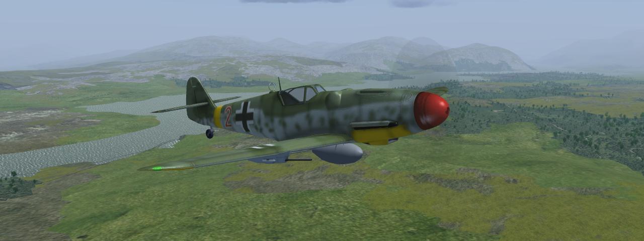 The Bf-109 – FlightGear-de
