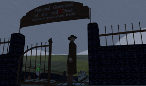 Halloween Special; A visit to the haunted Graveyard